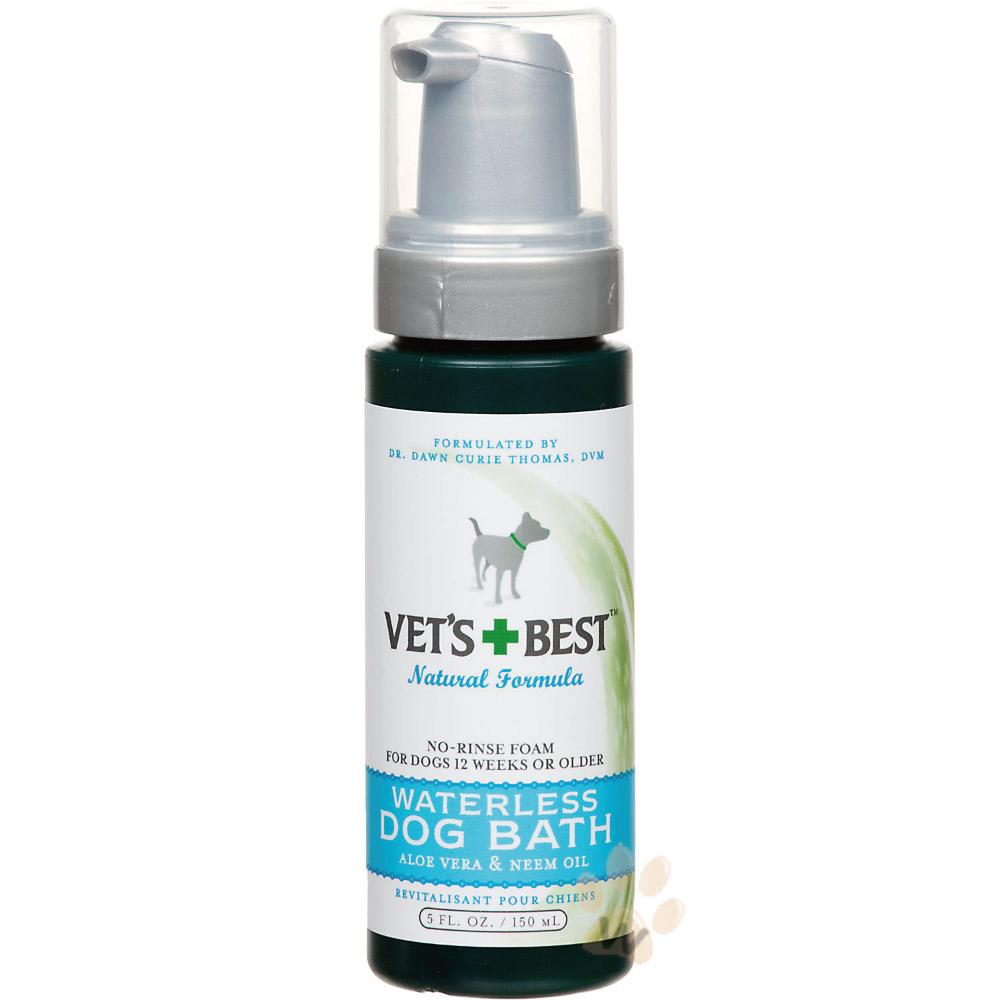 翡特絲 VET'S BEST《犬用乾洗泡沫》清潔護理系列 5oz