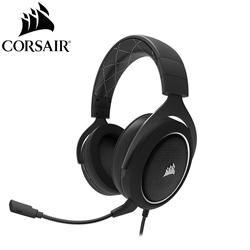 Corsair 海盜船 HS60 Surround Gaming 電競耳麥《白》