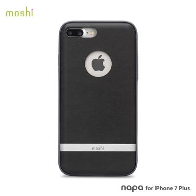 Moshi Napa for iPhone 7 Plus/8 Plus 皮革雙料保護背殼