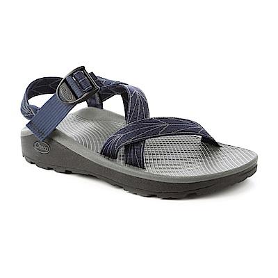 美國Chaco。男越野舒壓運動涼鞋標準款CH-ZLM01HD01 (飛航藍)