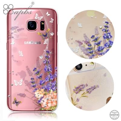 apbs Samsung Galaxy S7 施華洛世奇彩鑽手機殼-普羅旺斯
