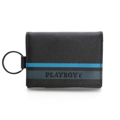 PLAYBOY-Q-Qualify-系列零錢夾-黑