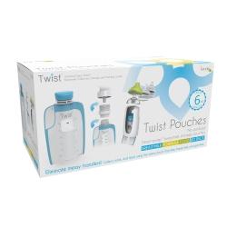 美國Kiinde Twist 180cc(80入)多功能母乳儲存袋1盒