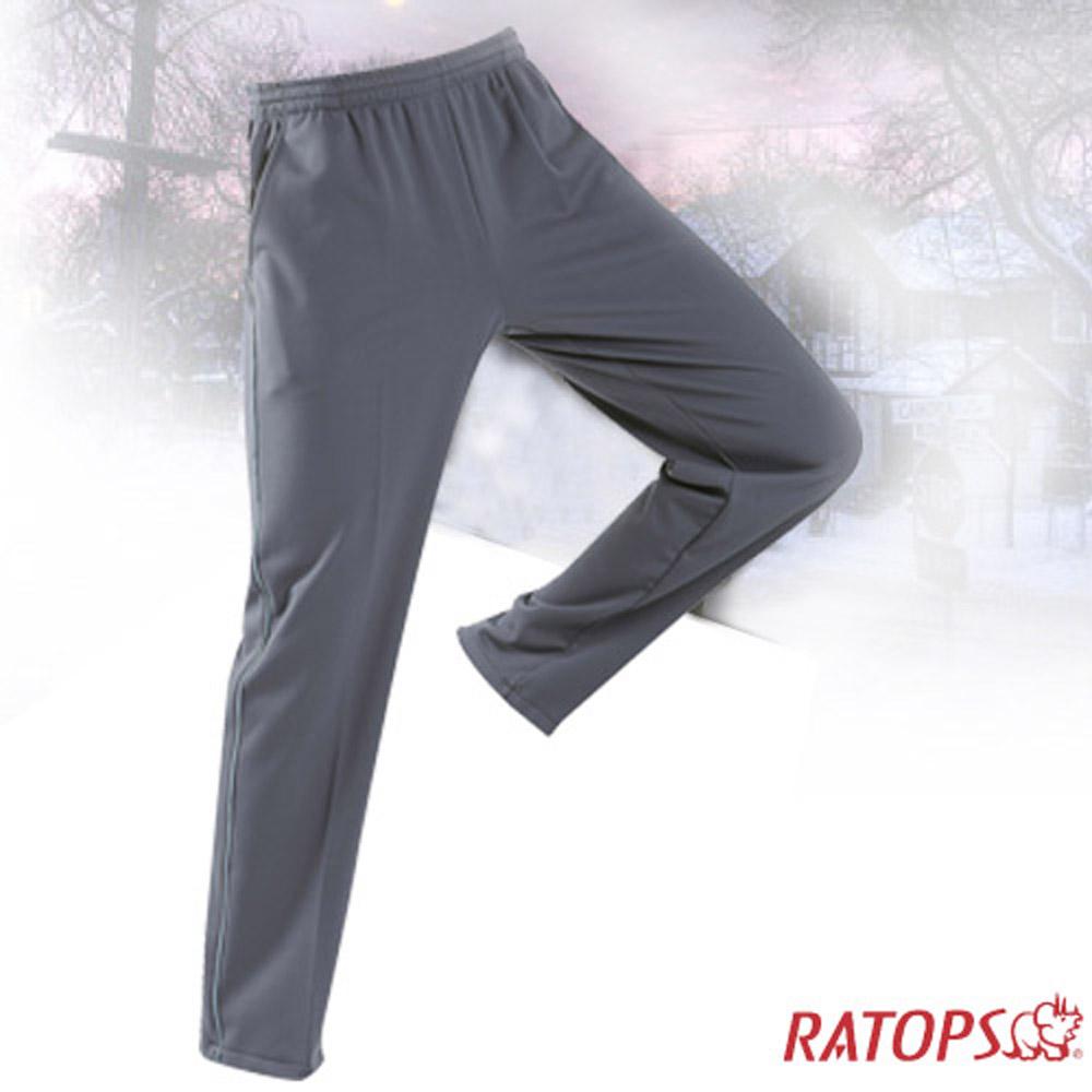 【瑞多仕】中性款 刷毛保暖長褲(出芽配)_DB5937 暗灰/影灰色 V1