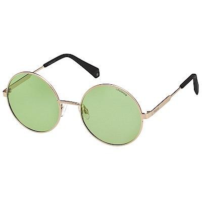 Polaroid 寶麗萊 偏光太陽眼鏡 (金色)PLD4052S