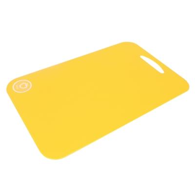 樂扣樂扣 雙面可用粉彩砧板-大(水果黃) (8H)