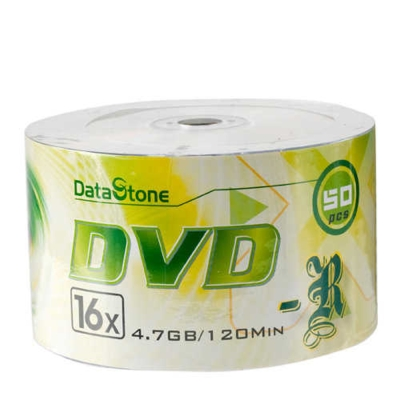 DataStone 時尚銀 A Plus級DVD-R 16X  (50片)