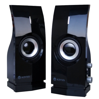 KINYO黑鑽石多媒體喇叭PS291