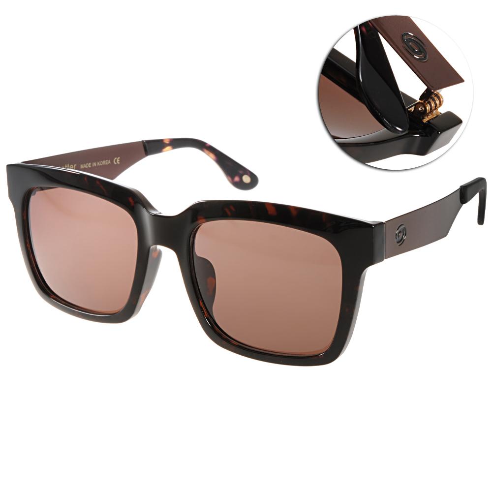 Go-Getter太陽眼鏡 個性方框/深邃琥珀-銅#GS4008 11