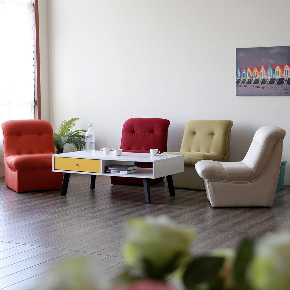 YKSHOUSE 蒂瑪單人造型沙發椅 多色可選
