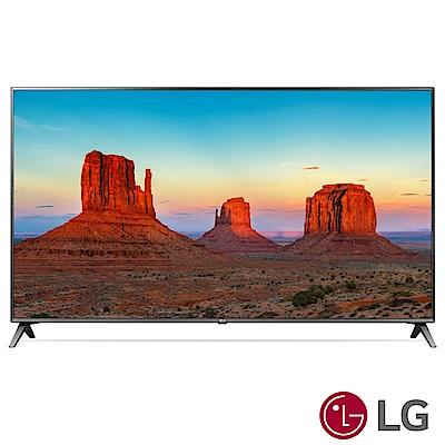 LG 75型IPS 廣角4K 智慧連網液晶電視75UK6500PWB