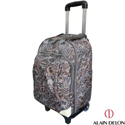 ALAIN DELON 可拆式多功能拉桿旅行袋(民俗風)