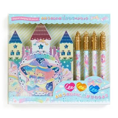 Sanrio 雙星仙子魔法變色筆與城堡造型便條本組