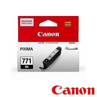 Canon  CLI-771 BK 原廠淡黑色墨水匣