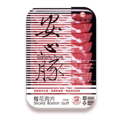 台糖安心豚  梅花肉片【4盒】(200g)