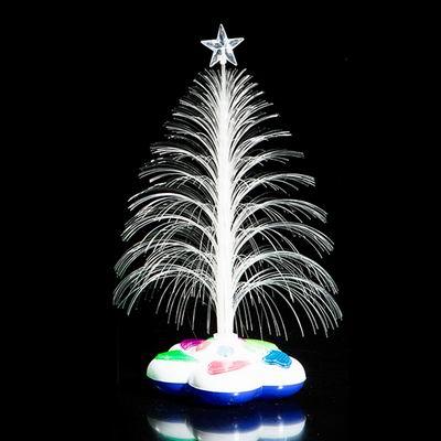 iSFun 煙花聖誕樹 光纖星星音樂花底夜燈 4色可選