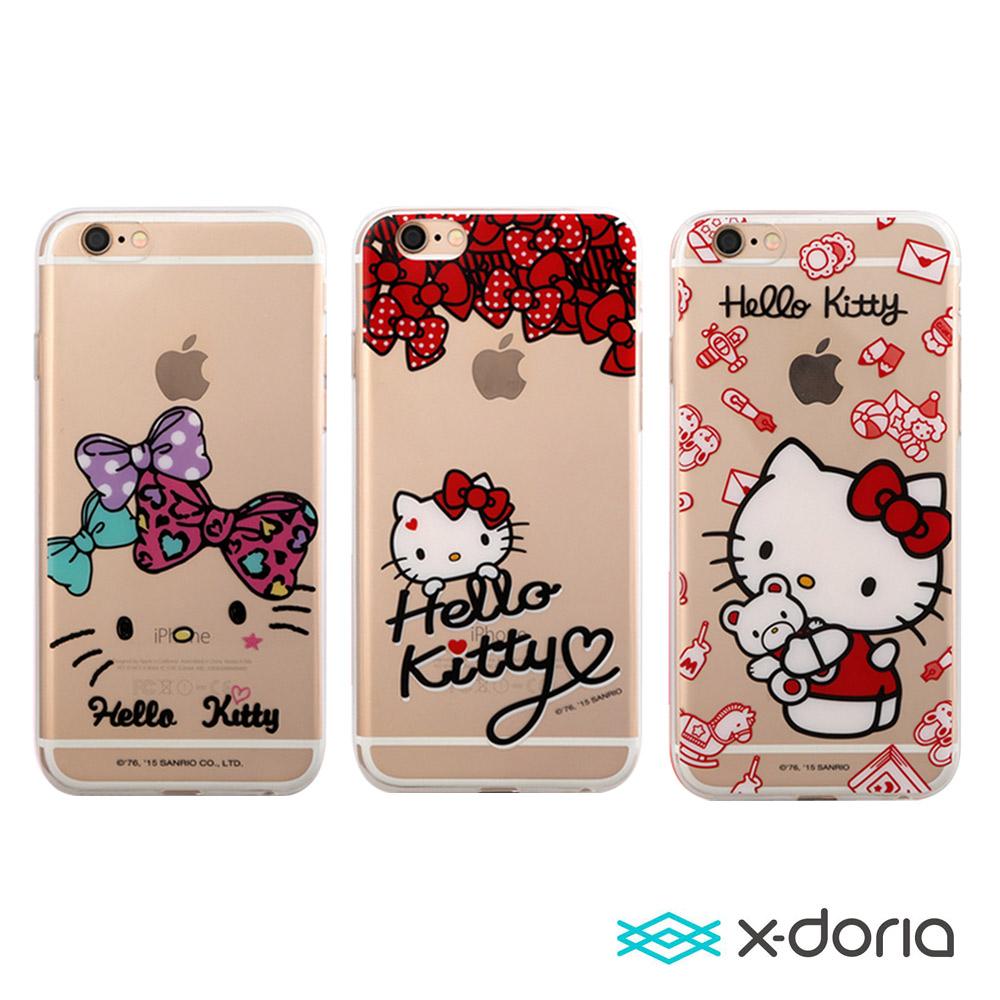 X-doria- iphone 6 plus / 6s plus 手機保護手機殼-萌結凱蒂系列
