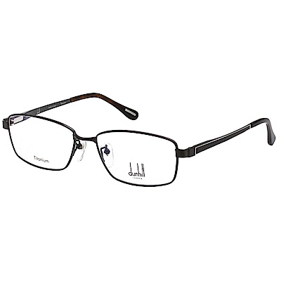 Dunhill 純鈦 光學眼鏡 (深槍色)VDH089J