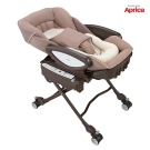 【麗嬰房】Aprica 電動高低調節搖擺餐搖床椅 YuraLism DX 睡美人