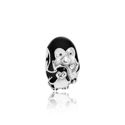 Pandora 潘朵拉 魅力企鵝家庭 純銀墜飾 串珠
