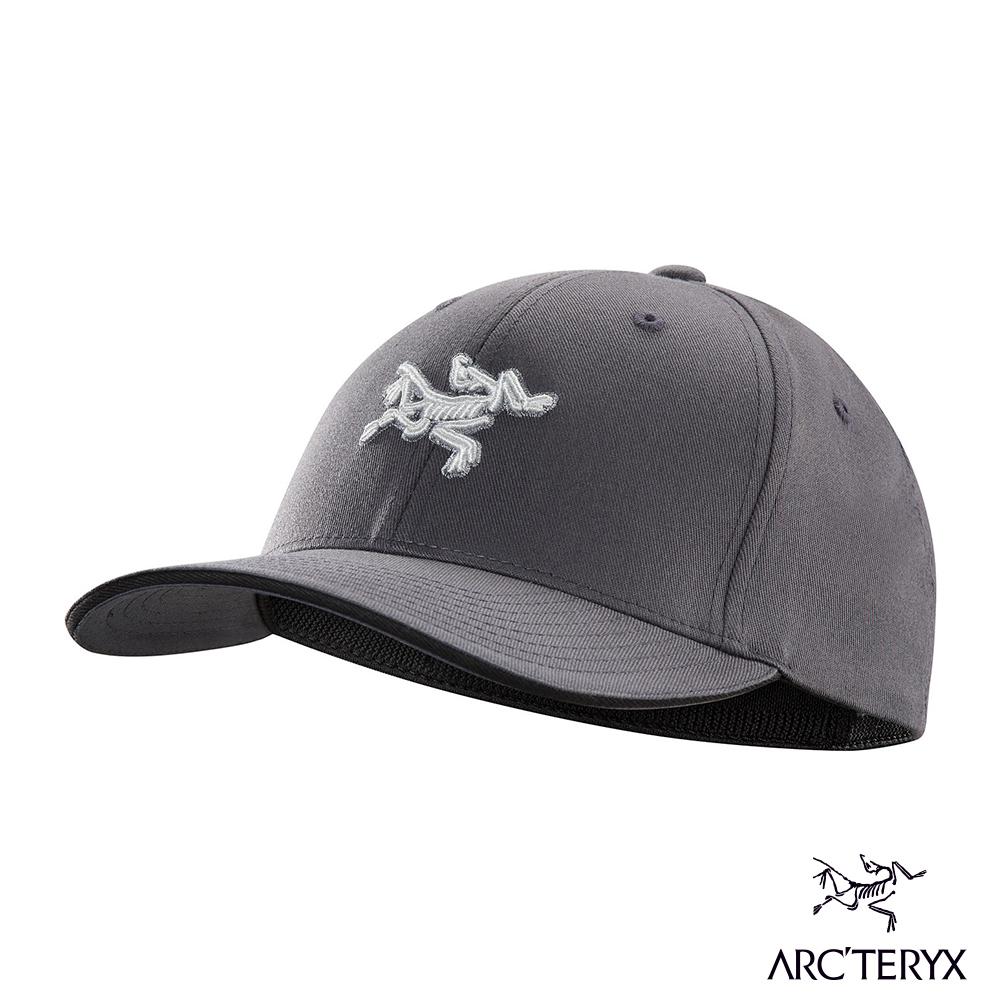 Arcteryx 始祖鳥 24系列 Logo棒球帽 蒼鷺灰