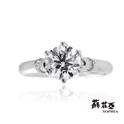 蘇菲亞SOPHIA - 維納斯之戀 GIA 1.00克拉 DVS2 鑽石戒指