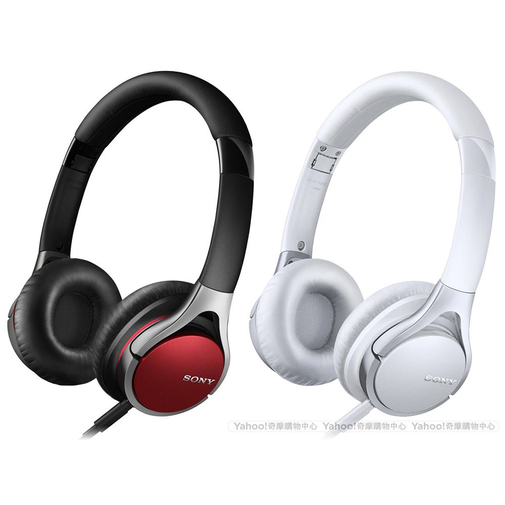 SONY 智慧型手機專用 可折疊 耳罩式耳機 MDR-10RC
