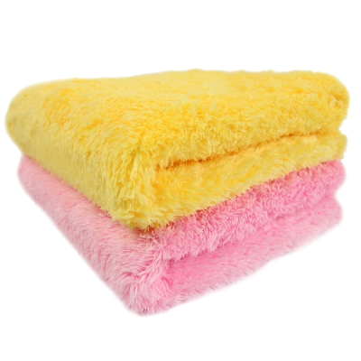 Yenzch 微絲開纖毛巾(二色可選 2入 35x75cm) RM-11001