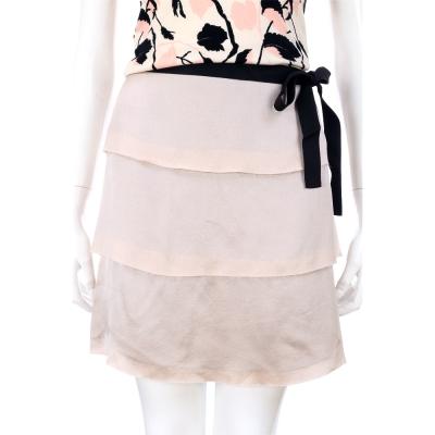 PHILOSOPHY 粉色綁帶紗質蛋糕裙
