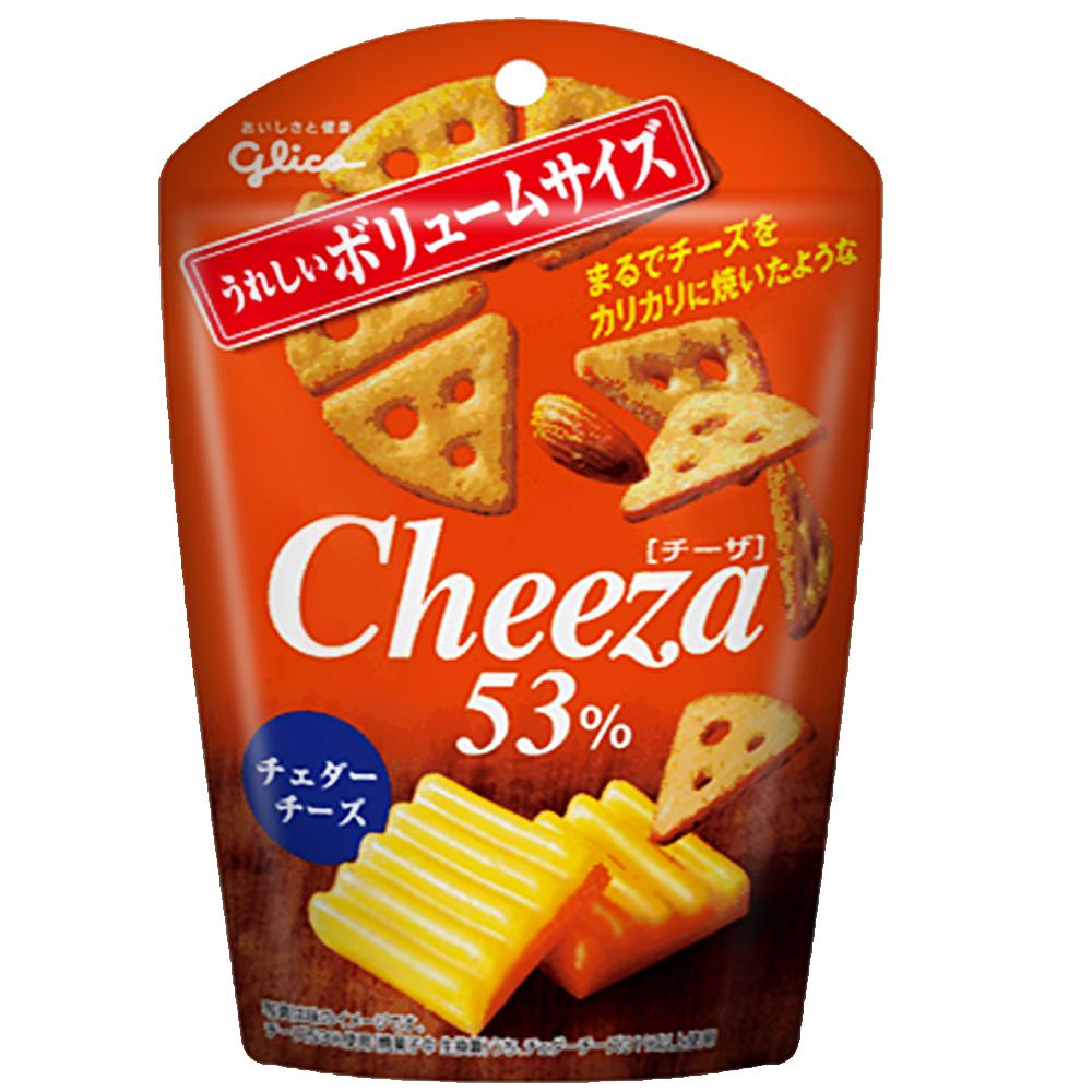 GLICO格力高 Cheeza巧達起司脆餅(50g)