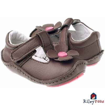 Rileyroos 美國手工童鞋學步鞋-Gabriella 棗紅色