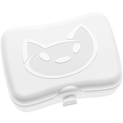 KOZIOL貓咪午餐盒白