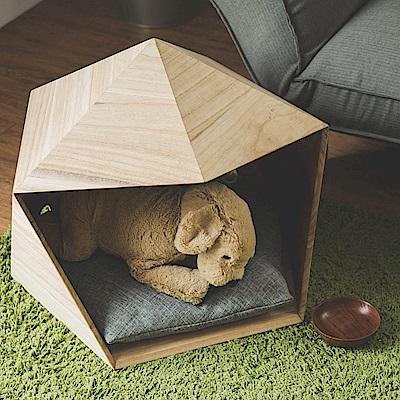 Home Feeling 寵物窩/寵物床/狗窩/貓窩(2色)-53x50x45