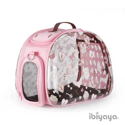 IBIYAYA依比呀呀 FC1220-HR 透明膠囊寵物提包-杯子蛋糕