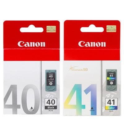 Canon PG-40+CL-41原廠墨匣(黑色+彩色)2顆入