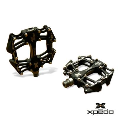 XPEDO XMX17 多功能鋁合金造型踏板 黑