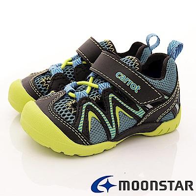 日本Carrot機能童鞋 2E速乾護趾款 CTW2037 綠 (中小童段)