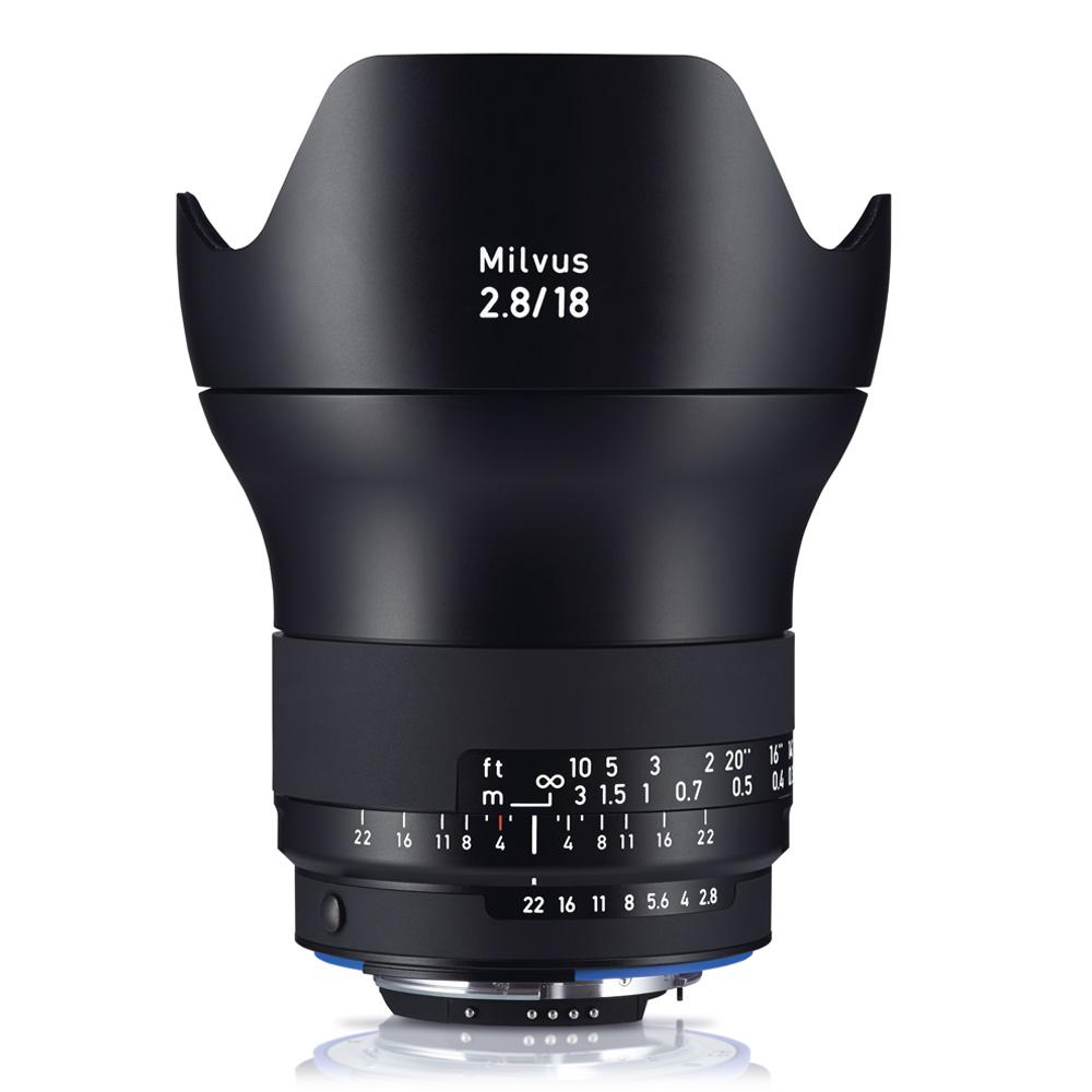 Zeiss Milvus 2.8/18 ZF.2(公司貨)For Nikon