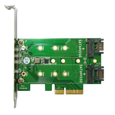 伽利略PCI-E M2 轉接卡