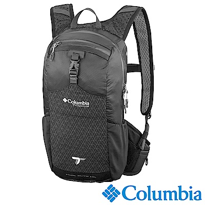 Columbia 哥倫比亞 -男女-鈦 輕量登山12L背包- 黑色(UUU12050BK)