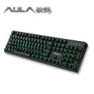 AULA狼蛛 機械式電競鍵盤(紅軸綠光-中文版)SI-2053