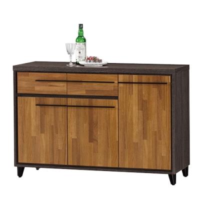 品家居 洛爾3.9尺餐櫃下座-115.5x40x80cm-免組