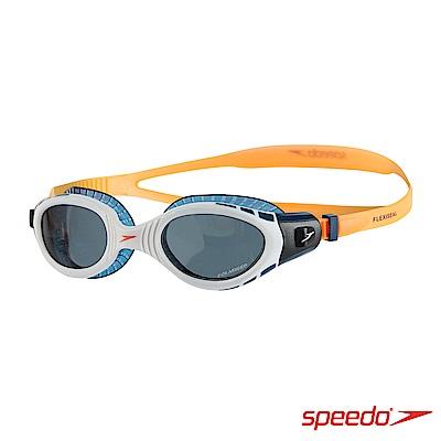 SPEEDO 成人 運動鐵人泳鏡 Futura Biofuse Tri 藍橘