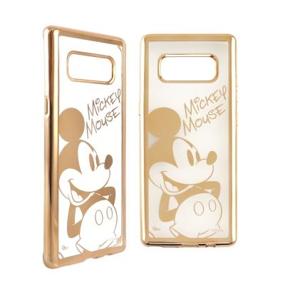 Disney迪士尼 三星Galaxy Note8時尚質感電鍍保護套-人物系列 米...