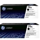 HP 79A黑色碳粉匣(CF279A)雙包裝