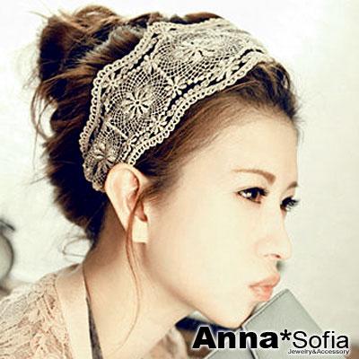 AnnaSofia-皇家蕾絲-韓式寬髮帶-魅黑-陽