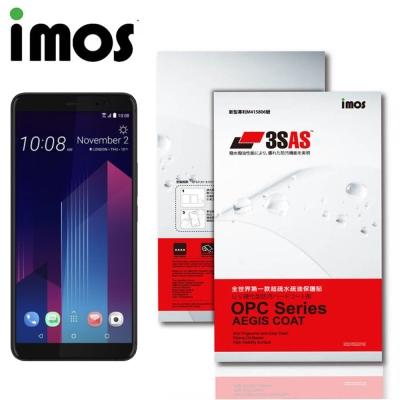 iMos HTC U11 PLUS 3SAS 疏油疏水 螢幕保護貼