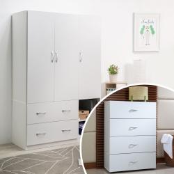 TZUMii衣櫥+斗櫃DIY組合特惠48折起