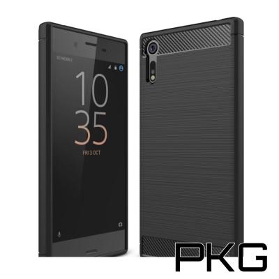 PKG XZ Premium抗震防摔保護殼-碳纖維紋系列-紳士黑