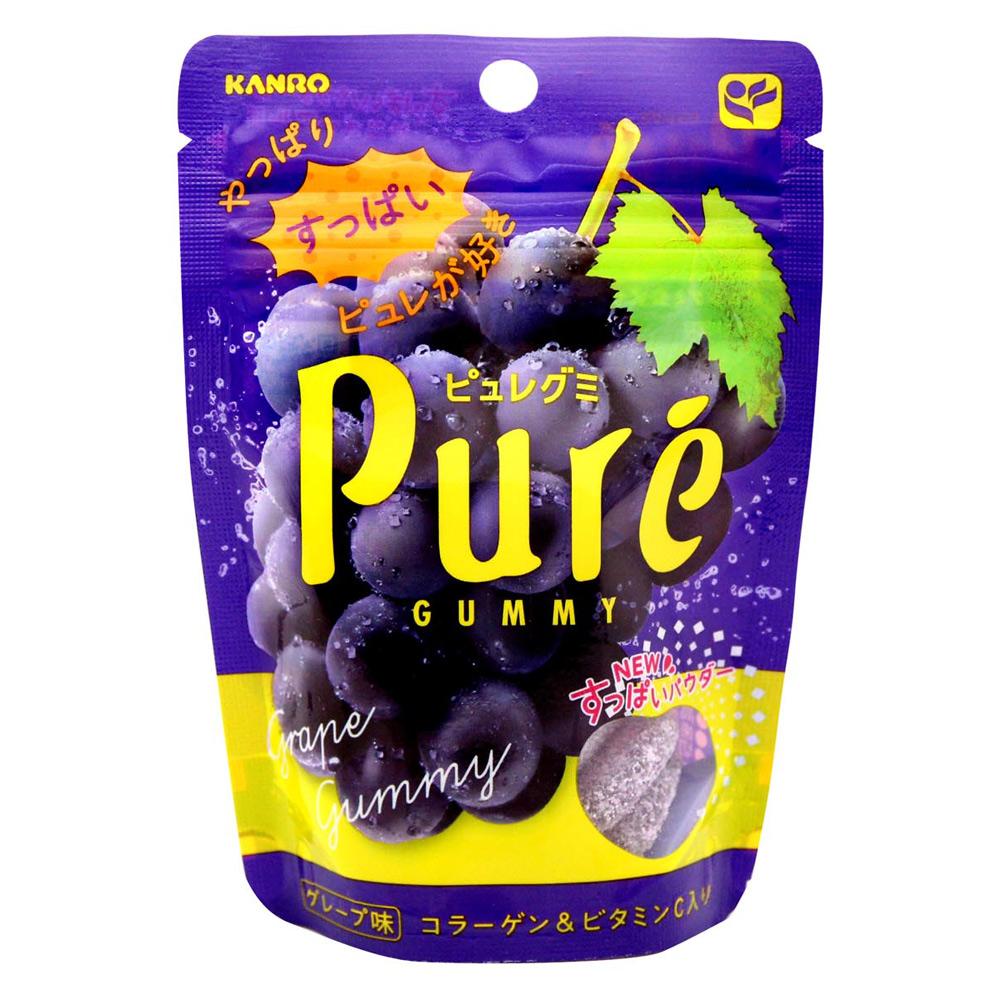 Kanro Pure 巨峰果汁軟糖(46gx2包)
